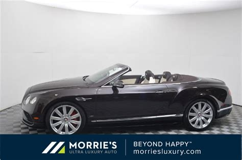 Pre-owned 2017 Bentley Continental Gt V8 S 2d Convertible