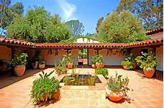 spanish style house plans with interior courtyard spanish courtyard houses pinterest
