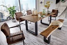 Modrest Modern Live Edge Wood Dining Table