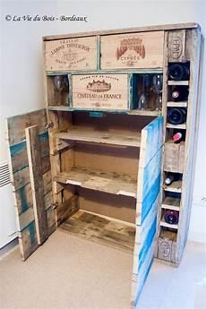 les meubles en palettes le bar 224 vin la vie du bois