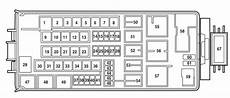 1999 Mercury Mountaineer Fuse Box Diagram