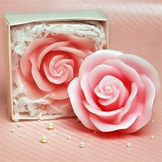 candele rosa pink flower wedding candle wedding supplies