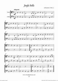sheet carols for viola and cello all the