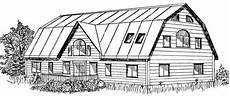small gambrel house plans huge gambrel house plan has space for up to five bedrooms