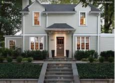 exterior house color light warm grey bm annapolis grey and white dove exterior paint ideas