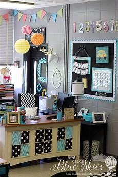 Classroom Decorations by Classroom Reveal 2015 Grade Blue Skies Classroom