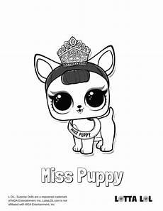miss puppy malvorlagen lotta lol lol series 3