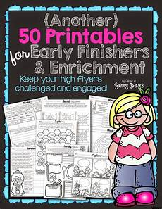 early finisher and enrichment solutions sunny days in second grade first grade ideas math