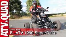 test e atv 1290 superduke