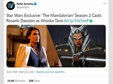 when does mandalorian season 2 released