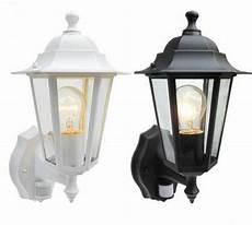 outdoor pir detector security lantern wall light garden home house coach l ir ebay