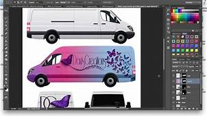 How To Make A Commercial Cargo Van Car Wrap Mockup