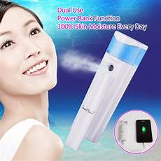 Nano Mister Vaporizer Rechargeable Portable by Skin Care Tools Usb Rechargable Power Bank Portable