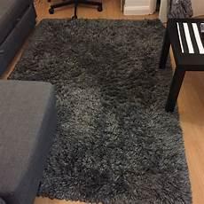 ikea adum grey floor rug 1year in cross