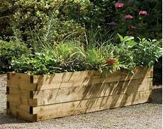 Beautiful And Useful Wooden Planters