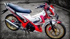 Modifikasi Motor Fu by Kumpulan Modifikasi Motor Satria Fu 150 Terbaru Terbaik