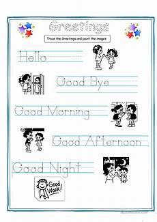 greetings for kids worksheet free esl printable worksheets made by teachers