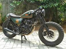 Jual Motor Modifikasi Murah by Jual Cafe Racer Murah Jakarta Amatmotor Co