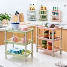 Bathroom Table Storage by 1pc Kitchen Shelf Living Room Multi Layer Finishing Frame