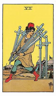 As Der Schwerter - sieben der schwerter deine tarotkarte brigitte de