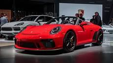 2019 Porsche 911 Speedster 7 Less Obvious Reasons It S