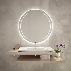 Badspiegel Rund Mit Beleuchtung - elara spiegel rund mit beleuchtung 02 kaufen spiegel21