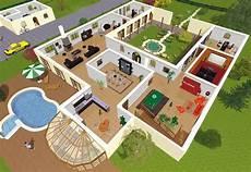 plan maison moderne 3d plan maison 3d en ligne 1 jpg 600 215 415 house plans