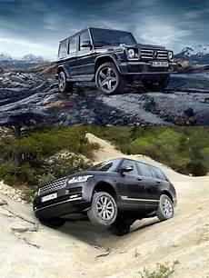 mercedes g class vs range rover vogue