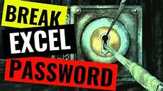 how to remove a password from a protected worksheet or workbook in excel youtube