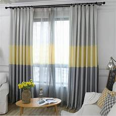 Gardinen Modern Schlafzimmer - nordic modern gradient blackout curtains for living room
