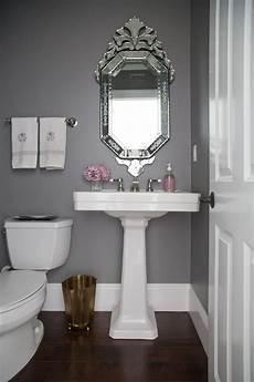 powder room makeover bathroom grey bathrooms chelsea