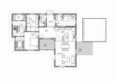 grundriss bungalow modern fertighaus luxhaus bungalow pultdach 145
