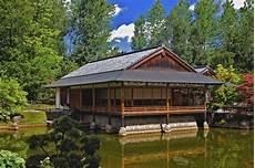 japanisches teehaus foto bild landschaft garten
