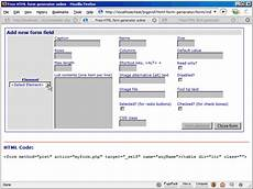 free html form generator