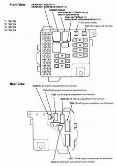 2004 Acura Cl Fuse Box Diagram by 1998 Acura Cl Engine Bay Diagram Wiring Library