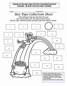 box top collection sheets 25 box tops collection sheets