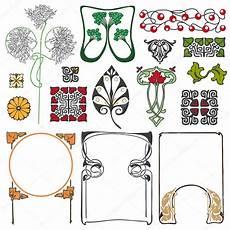 Jugendstil Florale Ornamente Stockvektor 169 Alvaroc 81652914