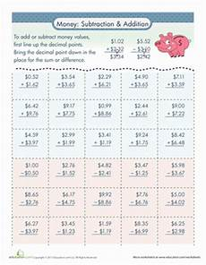 adding and subtracting money worksheets grade 4 2790 money addition and subtraction addition subtraction worksheets subtraction worksheets money