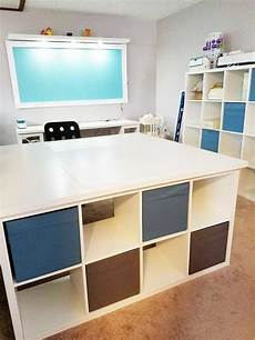 the best ikea craft room tables and desks ideas