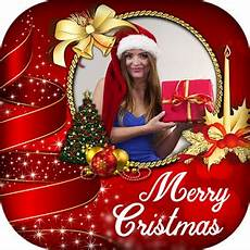 merry christmas profile picture photo frame image facebook add create online profile picture