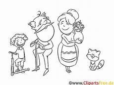 Gratis Malvorlagen Oma Und Opa Oma Opa Und Enkelkinder Illustration Schwarz Wei 223 Zum