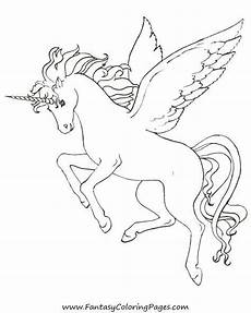 malvorlagen wings unicorn free coloring pages pegasus and unicorns malvorlagen