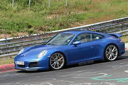 Spied 2016 Porsche 911 Tests In The Nude