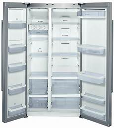 678l bosch side by side fridge kan62v40au inside