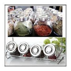 Kitchen Craft Herb Preserver by Retro 250ml Glass Clip Top Airtight Spice Herb Jam