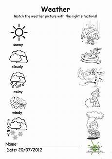 weather worksheets free 18512 weather match worksheet free esl printable worksheets made by teachers