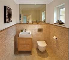 bad halb gefliest tile bathroom half wall ideas tile wall finished with