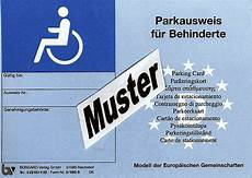 parkausweis für behinderte unbefristet blau europ 228 ischer parkausweis f 252 r schwerbehinderte