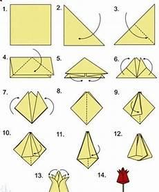origami anleitung einfach origami tulpen falten anleitung dekoking 1 ostern