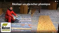 Isolation Phonique Plancher Neuf Ou R 233 Novation